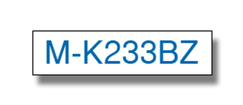 MK-233BZ PLASTIC LABELLING TAPE