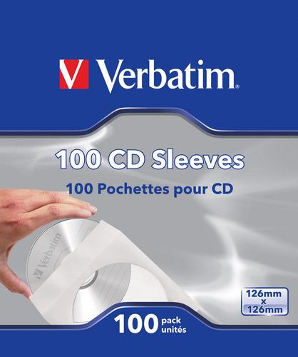CD-DVD PAPER SLEEVES 100 PK