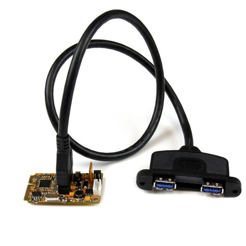 2 PORT MINI PCIE USB 3 CARD