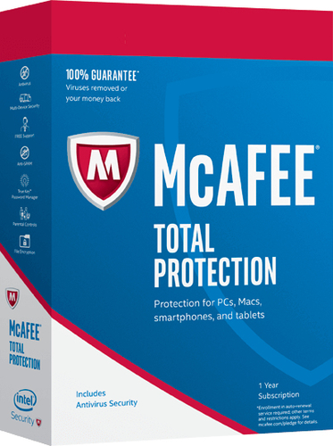 MCAFEE TOTAL PROTECTION 1 PC
