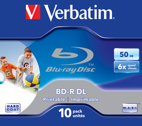 BD-R DL 6X 50GB 10PACK JC