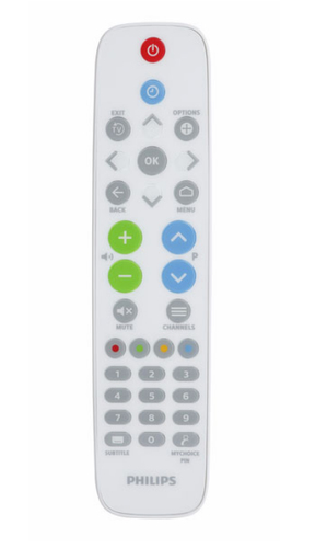 WHITE HEALTHCARE REMOTE CONTROL