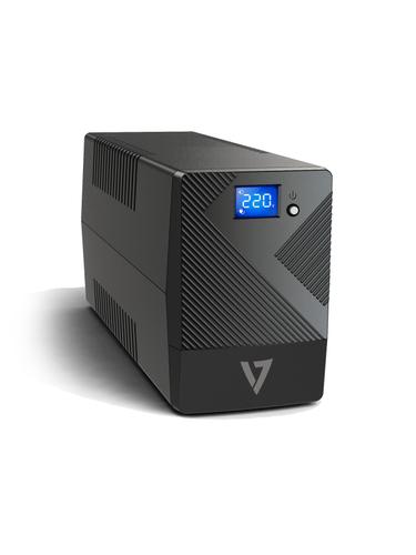 600VA DESKTOP UPS LCD 4 IEC OUT
