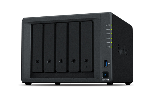 DS1520+ 5BAY 2.0GHZ QC 8GB DDR4