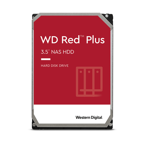 12TB RED PLUS 256MB CMR 3.5IN