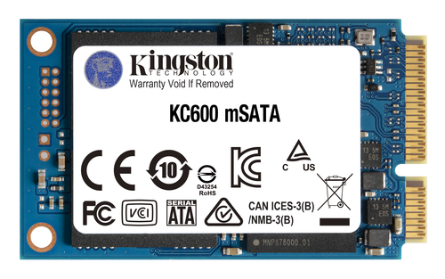 1024GB KC600MS SATA3 MSATA SSD