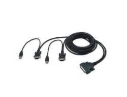 KVM Omniv.Dual-Port Kabel,3,6m