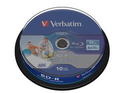 BD-R SL 25GB 6X 10PK