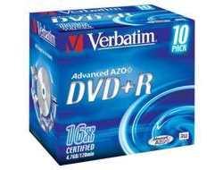 DVD+R 4.7GB 16X PRINTABLE