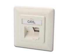 DIGITUS CAT 6A NETWORK OUTLET