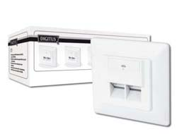 DIGITUS CAT 6 WALL OUTLET