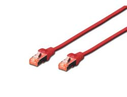 CAT6 S-FTP Patchk.,2m, Rot