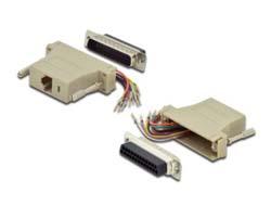 Adapter, DB25,modular DB25m