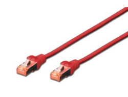 CAT6 S-FTP Patchk.,0,25m, Rot
