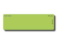 SLP-1GLB GREEN LABEL 28X89MM