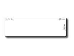 Etiketten SEIKO 28x89mm weiß