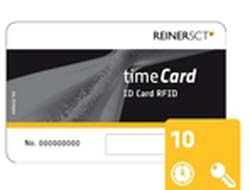 TIMECARD 6 CHIPCARDS 10