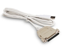 USB TO PARALLEL ADAPTER (DB-25