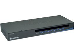 8 PORT KVM USB/PS2
